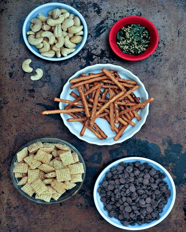 Sweet and Savory Furikake Carob Clusters @spabettie
