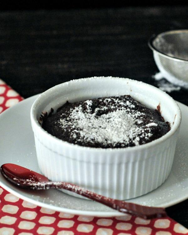 Cashew Hot Cocoa with Cinnamon Whip and Double Chocolate Mug Cake @spabettie