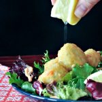 Tangy Lemon Crabless Cake Salad @spabettie