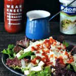 Waikiki Breakfast Salad and Easy Poppyseed Dressing @spabettie