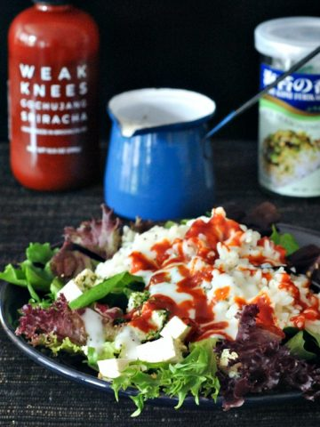 Waikiki Breakfast Salad and Easy Poppyseed Dressing @spabettie