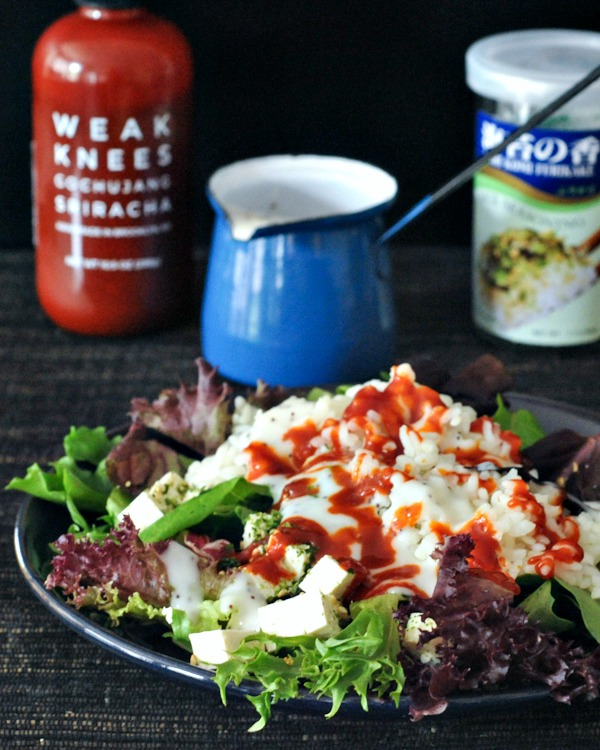 Vegan Breakfast Recipe Collection @spabettie Waikiki Breakfast Salad and Easy Poppyseed Dressing
