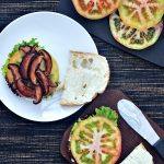 Crispy Shiitake BLT Sandwich @spabettie