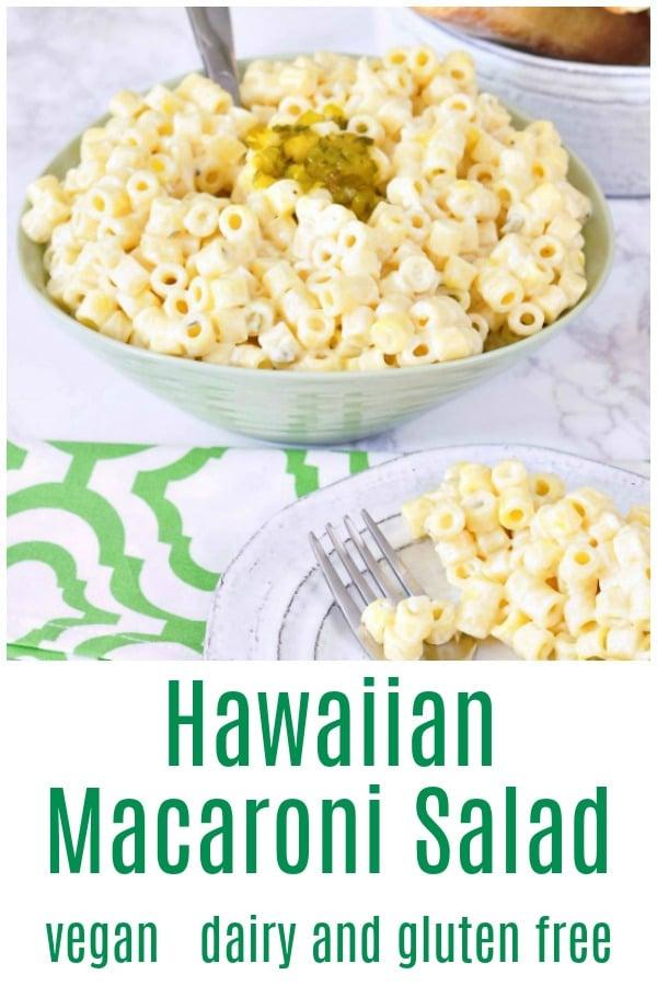 Hawaiian Macaroni Salad @spabettie #vegan #dairyfree #glutenfree #BBQ #potluck #recipe