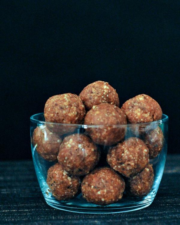 Savory BBQ Crunch Protein Balls @spabettie