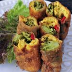 Vegan Bacon Wrapped Mini Breakfast Burritos @spabettie