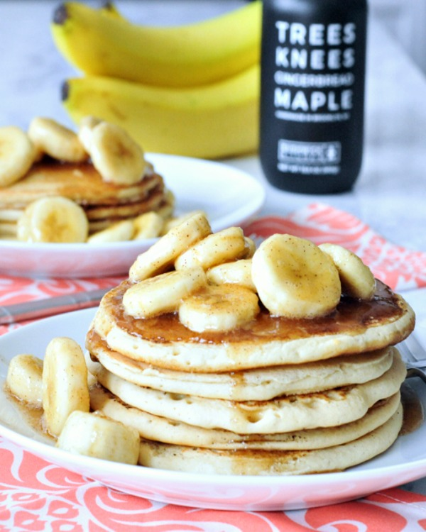 Sweet Holiday Nog Pancakes @spabettie