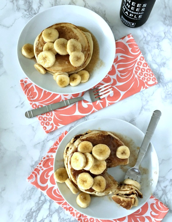 Sweet Holiday Nog Pancakes @spabettie