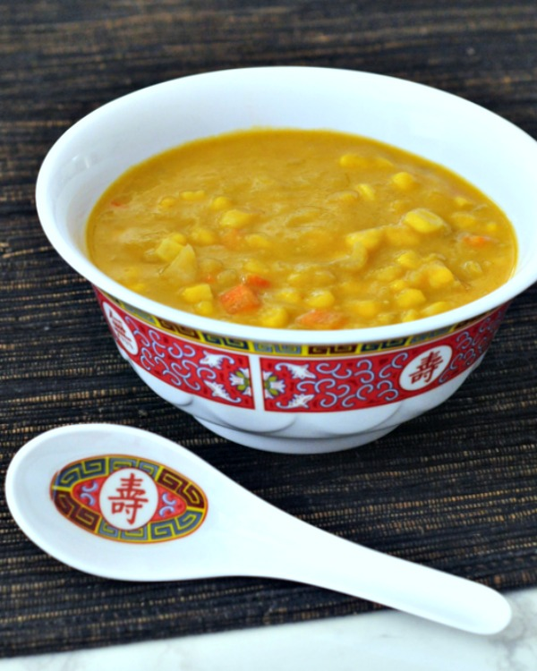 Indo Chinese Corn Soup @spabettie