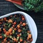 Roasted Veggie Quinoa Casserole @spabettie