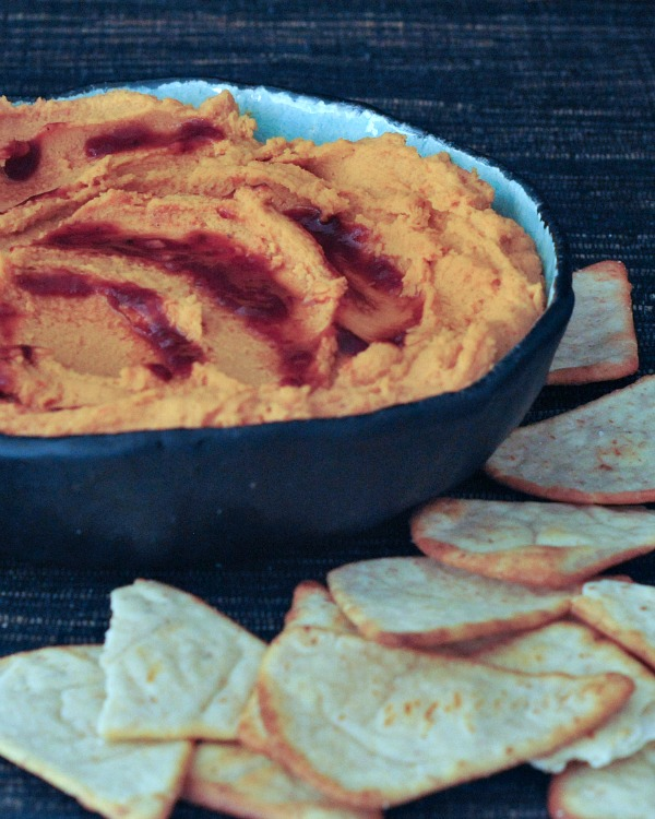 Whipped Lentil Chipotle Dip @spabettie
