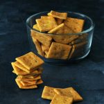 Vegan Cheesy Crackers @spabettie