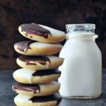Classic New York Black and White Cookie Vegan Recipe @spabettie