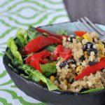 One Skillet Veggie Bean Burrito Bowls Gluten Free @spabettie
