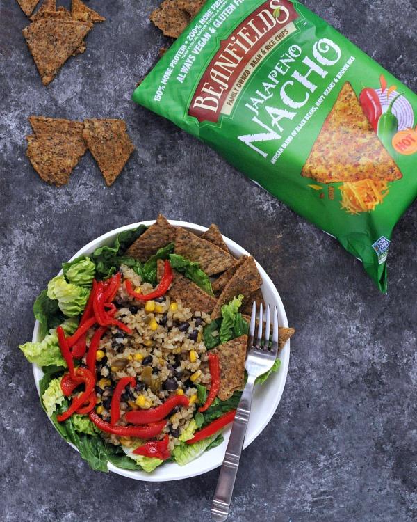 One Skillet Veggie Bean Burrito Bowls Vegan @spabettie