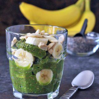 Vibrant Protein Rich Pineapple Chia Pudding @spabettie