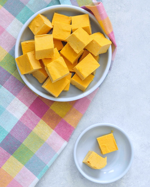 Butternut Toffee Meltaway Fudge Vegan @spabettie