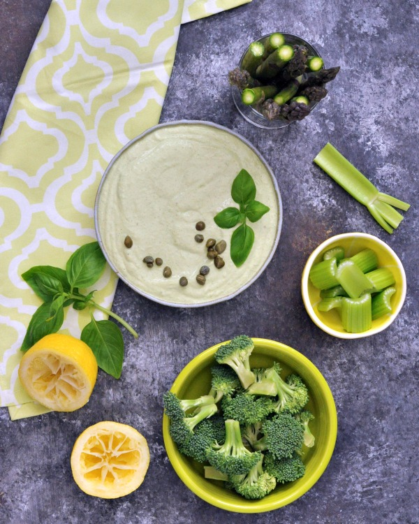 Green Goodness Dressing Dip Vegan @spabettie