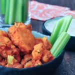 Vegan Air Fryer Buffalo Cauliflower @spabettie