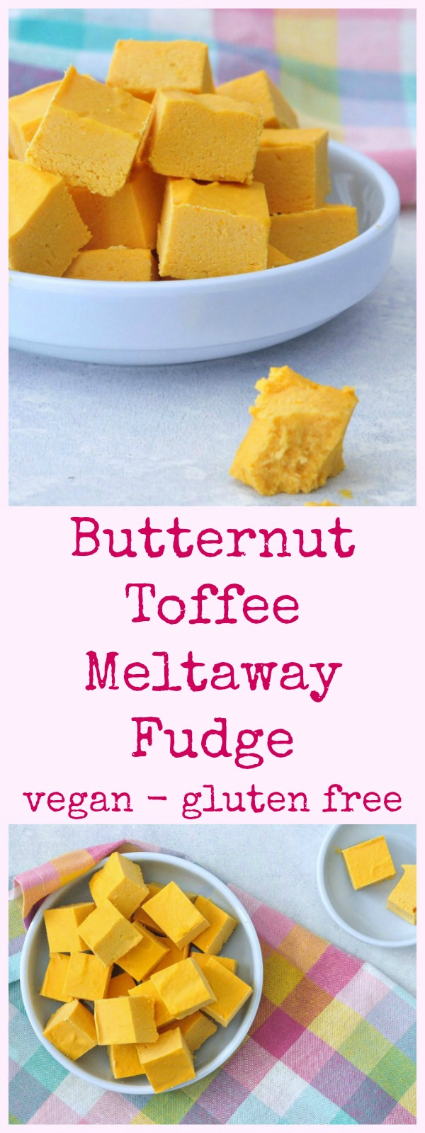 Butternut Toffee Meltaway Fudge @spabettie #vegan #glutenfree