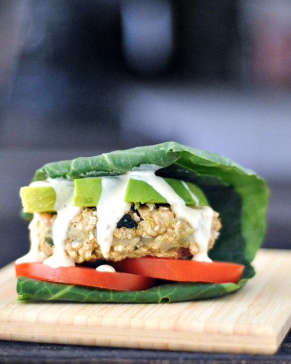 Tangy Spinach Artichoke Burgers Low Carb Wrap @spabettie