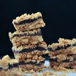 Tasty Chocolate Oatmeal No Bake Bars Oil Free @spabettie