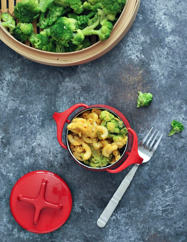 Black Pepper Cheesy Mac and Broccoli Vegan @spabettie