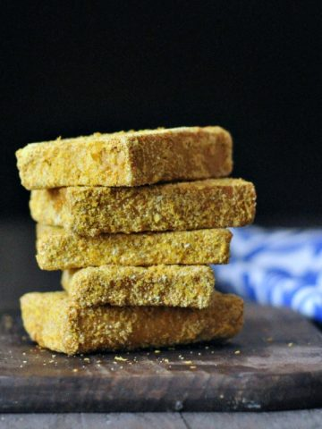 Crispy Southern Fried Tofu @spabettie