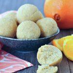 Orange Creamsicle Protein Balls @spabettie