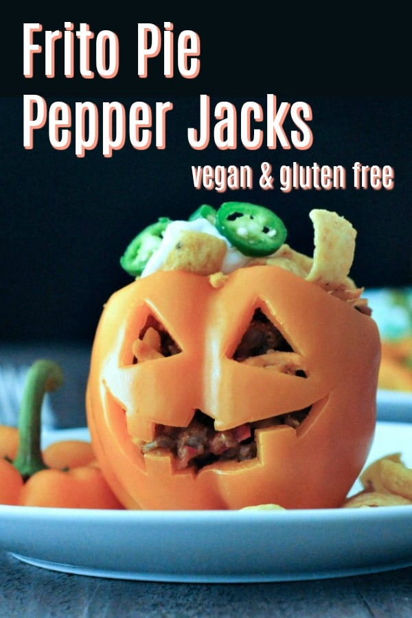 Frito Pie Pepper Jacks @spabettie #vegan #glutenfree #Halloween