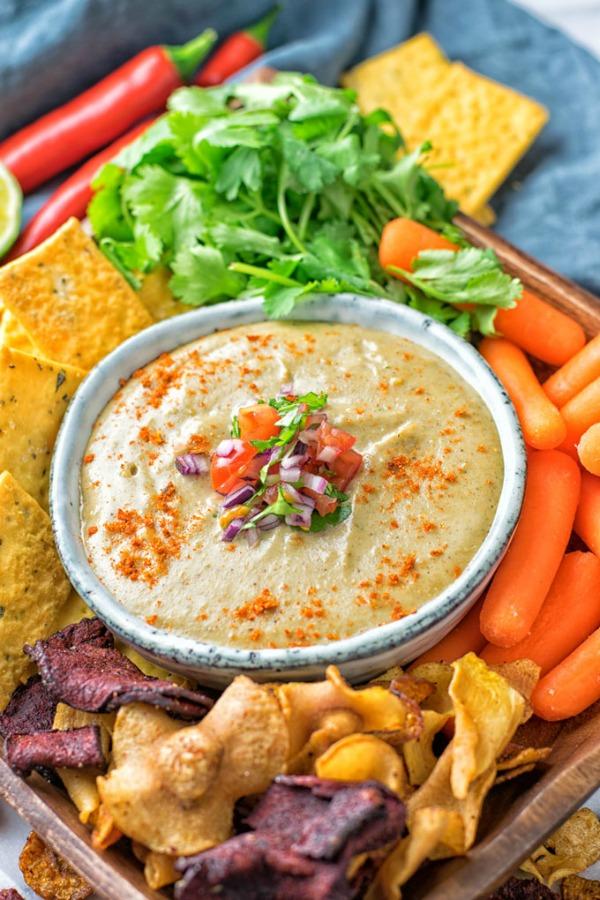 Mexican Cheese Dip @contentednessco