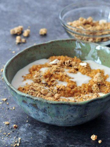Pumpkin Spice Latte Chia Pudding @spabettie