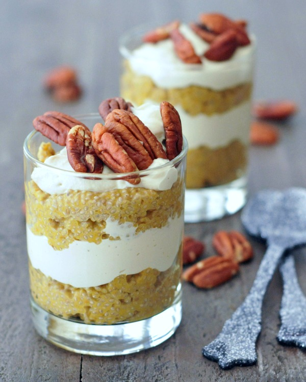 Pumpkin Spice Latte Chia Pudding Breakfast @spabettie