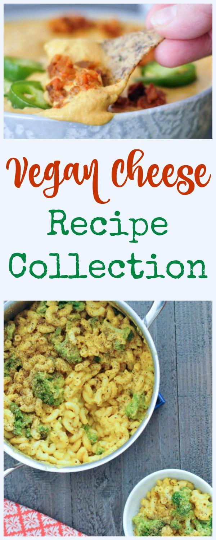 Vegan Cheese Recipe Collection @spabettie #vegan #cheese #recipes #comfortfood #tasty #dairyfree