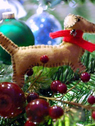 Dachshund Ornament @spabettie
