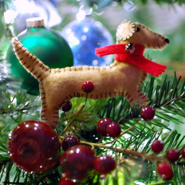 Dachshund Ornament @spabettie