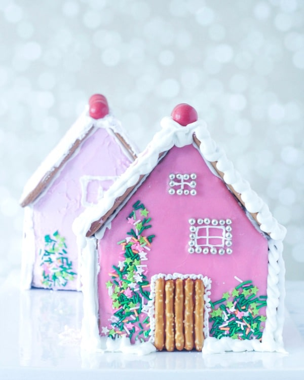 Cardamom Holiday Gingerbread House @spabettie #vegan