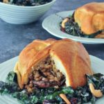 Hearty Protein Rich Portobello Wellingtons @spabettie #vegan #holiday