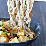 Super Flavorful Instant Kimchi Noodle Soup @spabettie