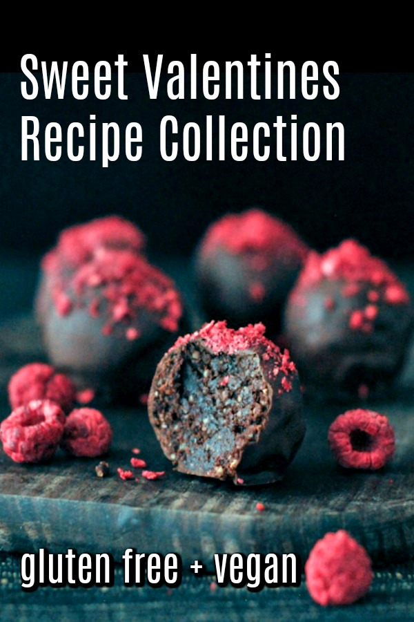 Sweet Valentines Recipe Collection @spabettie #vegan #glutenfree #valentines #desserts #sweets