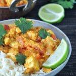 Tofu Paneer Tikka Masala @spabettie #glutenfree