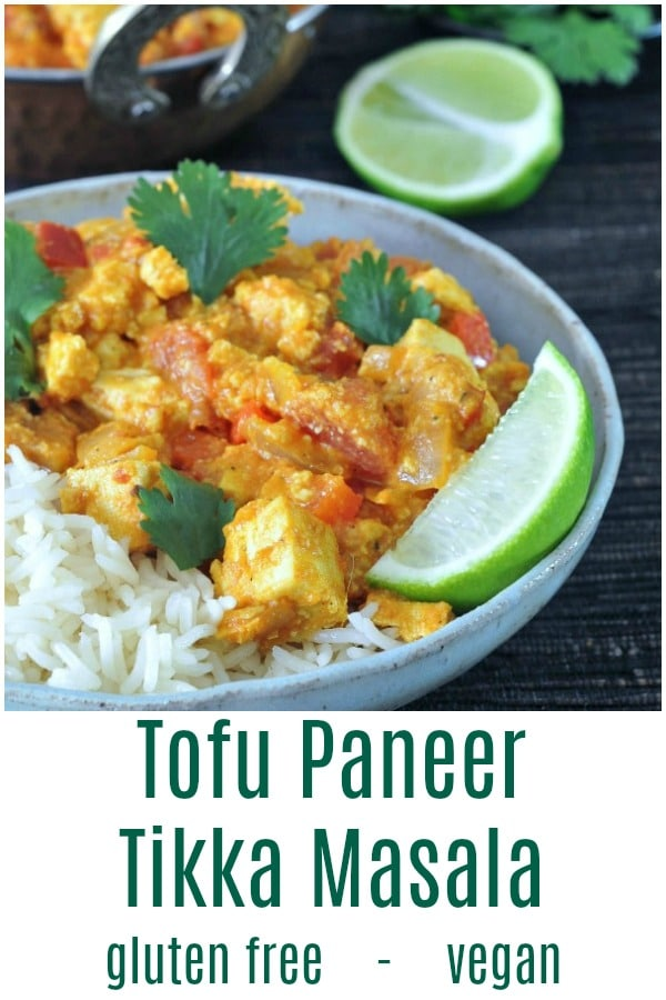 Tofu Paneer Tikka Masala @spabettie #glutenfree #vegan #dairyfree