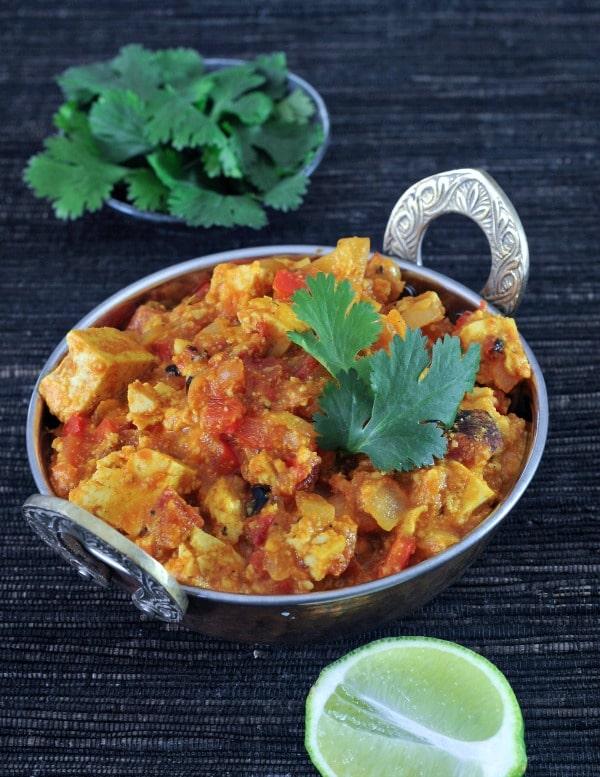 Tofu Paneer Tikka Masala @spabettie