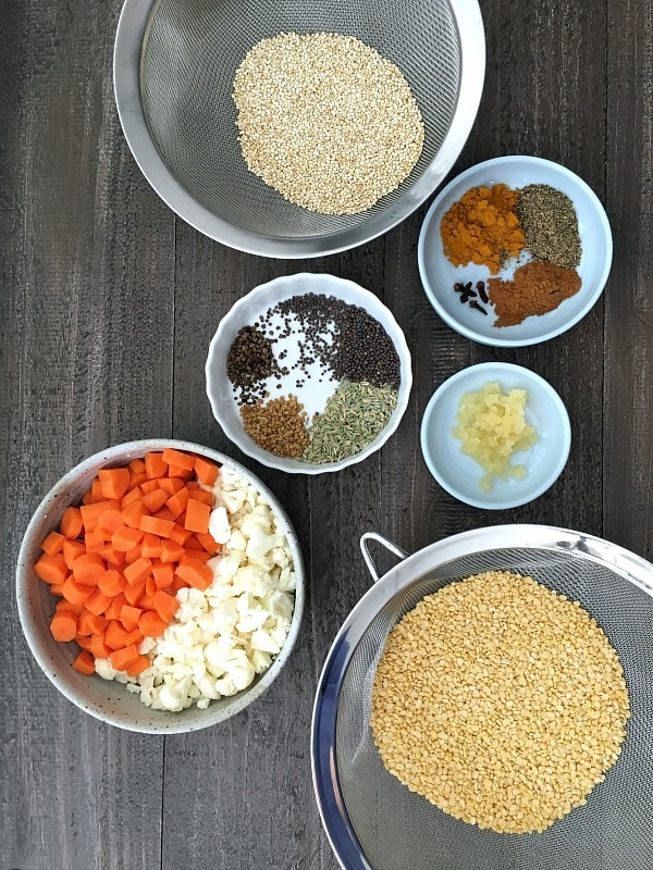 Nourishing Kitchari @spabettie #vegan #glutenfree