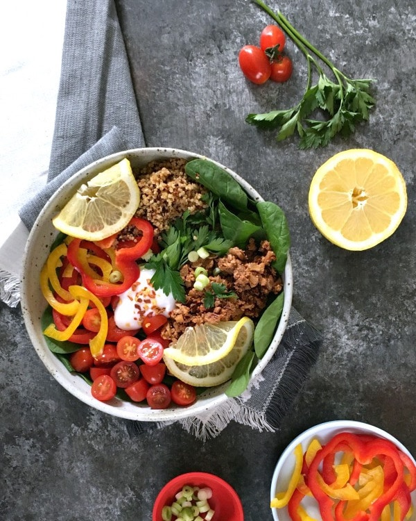 Stuffed Pepper Bowl @spabettie