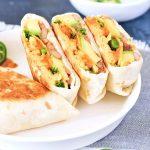 Breakfast Ranchero Crunchwrap @spabettie #vegan #airfryer #glutenfree #oilfree #breakfast
