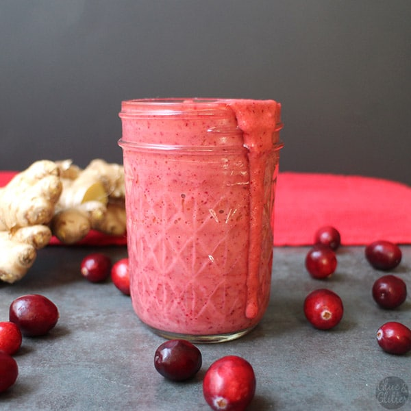 Ginger Cranberry Dressing - Glue & Glitter