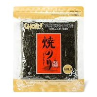 Daechun Sushi Nori (50 Full Sheets), Resealable, Gold Grade, Product of Korea