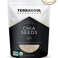 Terrasoul Superfoods Organic White Chia Seeds, 2 Pounds