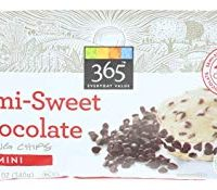 365 Mini Semi-Sweet Chocolate Chips, 12 Ounce